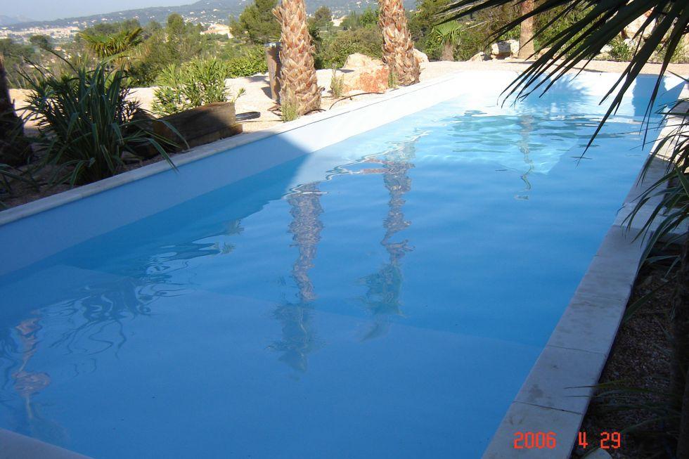 Realisation d 39 une piscine gemenos 12 x 5m r novation for Piscine de gemenos
