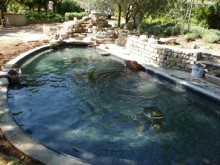 Pose de pvc arm pour piscine marseille top liner - Bassin en cuivre pour confiture marseille ...